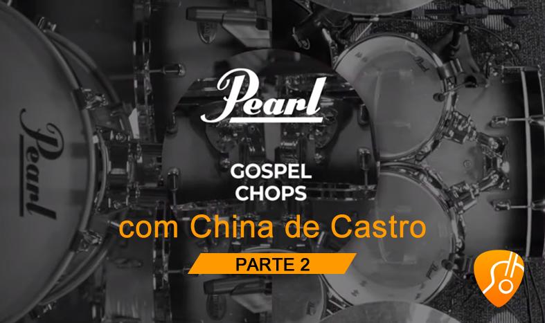 Como fazer Gospel Chops na bateria? China de Castro te ensina – (Canal Cifra Clube) – Aula 2