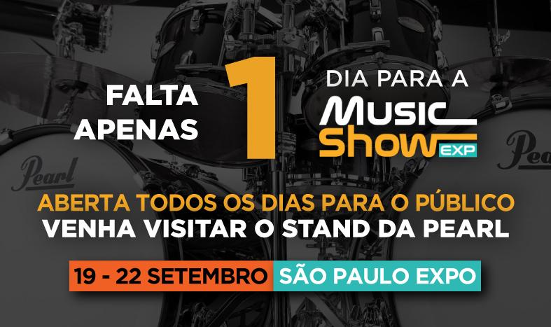 Falta 1 dia para a Music Show
