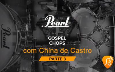 COMO FAZER GOSPEL CHOPS NA BATERIA? CHINA DE CASTRO TE ENSINA – (CANAL CIFRA CLUBE) – AULA 3