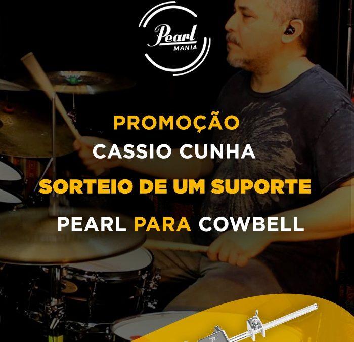 Quer ganhar um Cowbell Holder (Suporte Pearl para Cowbell – 75H) sorteado pelo nosso grande artista Cássio Cunha?